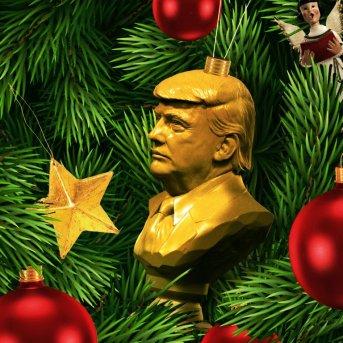 Ugly Trump Ornament - NYT